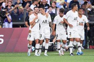 Di María marcó un gol en el triunfo de París Saint Germain