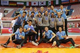 Argentina se quedó con la medalla de bronce en el Mundial de Voley Sub 19