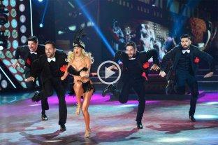 Luciana Salazar bailó tap y encendió la temperatura del Bailando