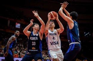 Cómoda victoria de Argentina ante Corea del Sur