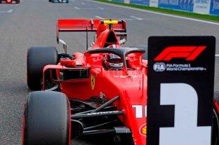 Leclerc con Ferrari logró la pole en el GP de Bélgica