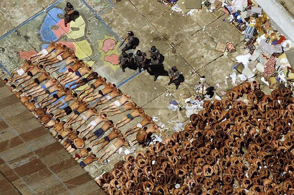 Motín en Carandiru. <strong>Foto:</strong> Archivo El Litoral