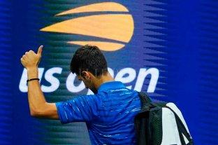 Djokovic abandonó US Open por un dolor de hombro