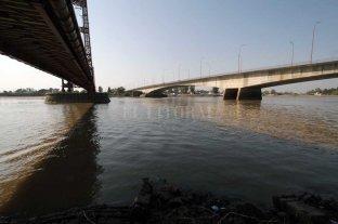 Leve repunte del río Paraná en el  Puerto de Santa Fe