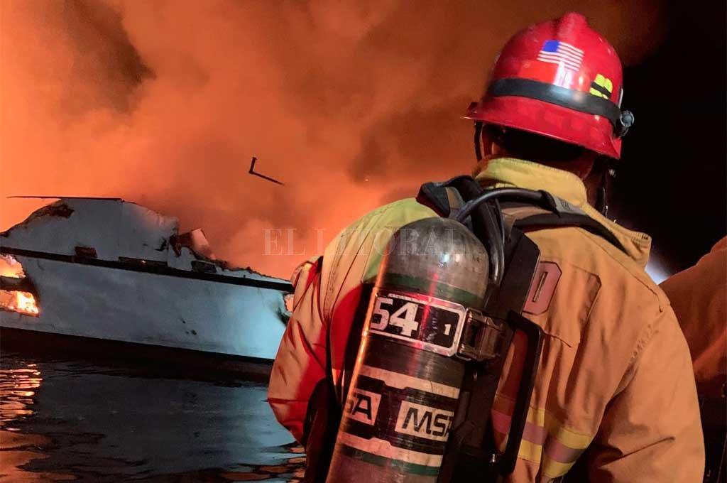 Crédito: Departamento de bomberos del Condado de Ventura