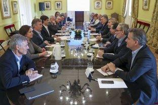 """Macri reunió a su gabinete y se mostró """"tranquilo"""""""