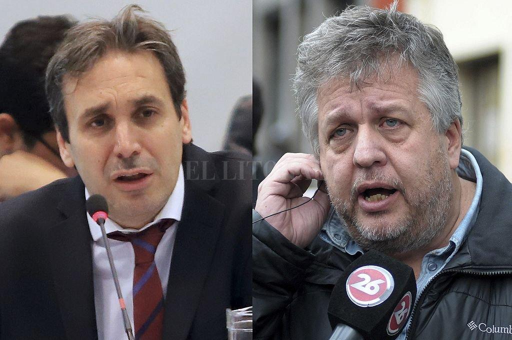 Ramos Padilla y Stornelli. <strong>Foto:</strong> Archivo El Litoral