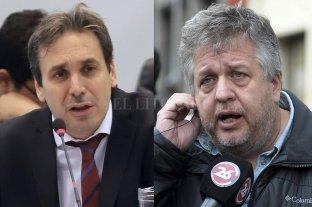 El juez Ramos Padilla citó otra vez a indagatoria al fiscal Stornelli - Ramos Padilla y Stornelli. -