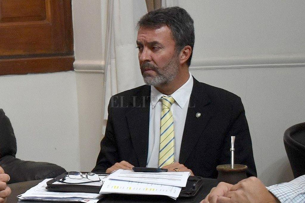 Carlos Torres, secretario de Regiones, Municipios y Comunas de la provincia. <br /> <strong>Foto:</strong> El Litoral