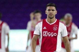 Magallán fue cedido del Ajax al Alavés de España