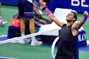 Nadal avanza en el US Open y será rival de Schwartzman
