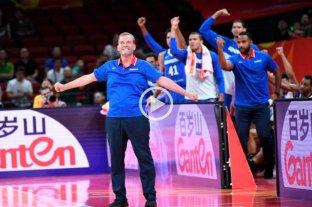 "El ""Che"" García metió a Dominicana en octavos del Mundial de Básquetbol e hizo historia"