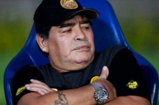 """Maradona negó haber rechazado una oferta de Gimnasia y dijo que """"sería un honor dirigir en mi país"""""""