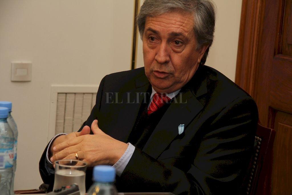 Raúl Gramajo, presidente de la Comisión de Acuerdos. <strong>Foto:</strong> El Litoral