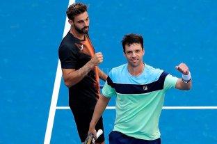 Zeballos alcanzó la semis de dobles en el US Open