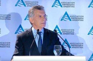 """""""Mi foco hoy es reducir la vulnerabilidad"""", dice Macri"""