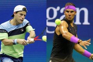Schwartzman enfrenta a Nadal por un lugar en semifinales del US Open