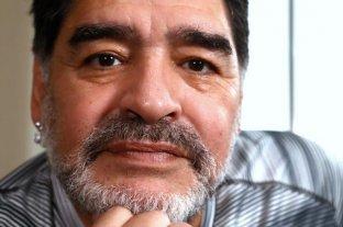 Maradona envió un mensaje a los hinchas del Lobo