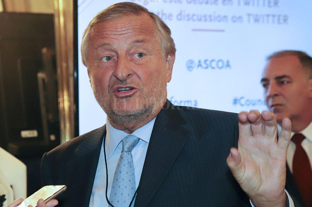 Cristiano Rattazzi, CEO de FCA Argentina <strong>Foto:</strong> NA