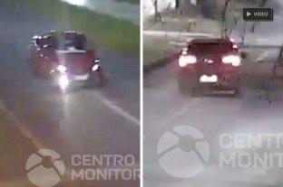Video: así fue la persecución del hombre que robó un auto y se tiró a la Setúbal