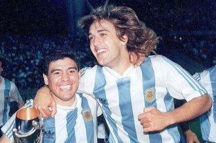 Batistuta descartó acompañar a Maradona a Gimnasia