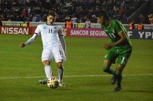 Argentina goleó a Bolivia en amistoso Sub 23