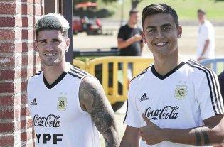 Argentina se mide contra Chile en el primer amistoso de la gira por Estados Unidos