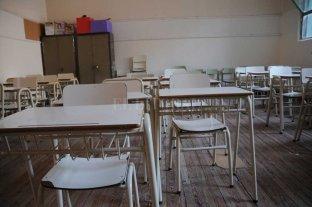 Se cumple la jornada de paro docente en las escuelas públicas