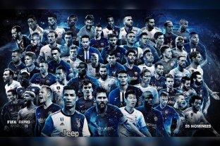 Ya están los 55 jugadores nominados para el mejor equipo del 2019