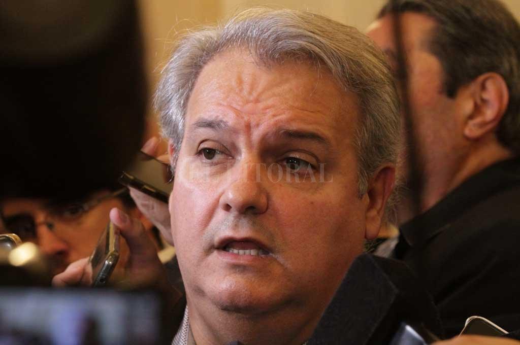 Pablo Farías, volvió a responderle al intendente Corral.  <strong>Foto:</strong> Archivo El Litoral