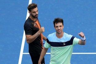 Horacio Zeballos, en pareja con el español Granollers, es finalista en dobles