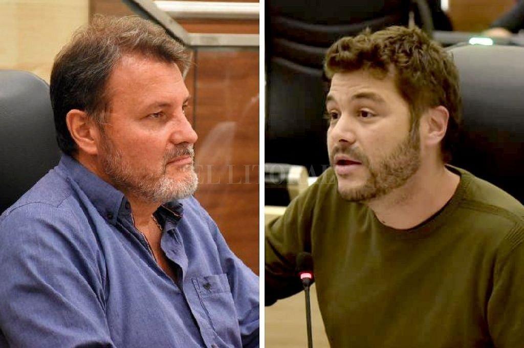 Agapito Blanco y Juan Monteverde <br /> <strong>Foto:</strong> Captura digital