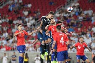 Argentina y Chile igualaron 0 a 0