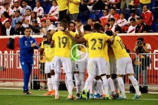 Ecuador superó a Perú en un amistoso
