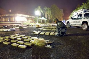 Secuestran más de 200 kilos de marihuana que eran trasladados desde Formosa a Córdoba