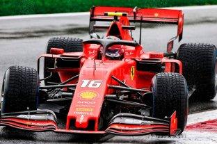 Leclerc dominó los ensayos de la F1
