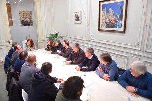 Cristina Kirchner se reunió con sindicalistas de la Corriente Federal