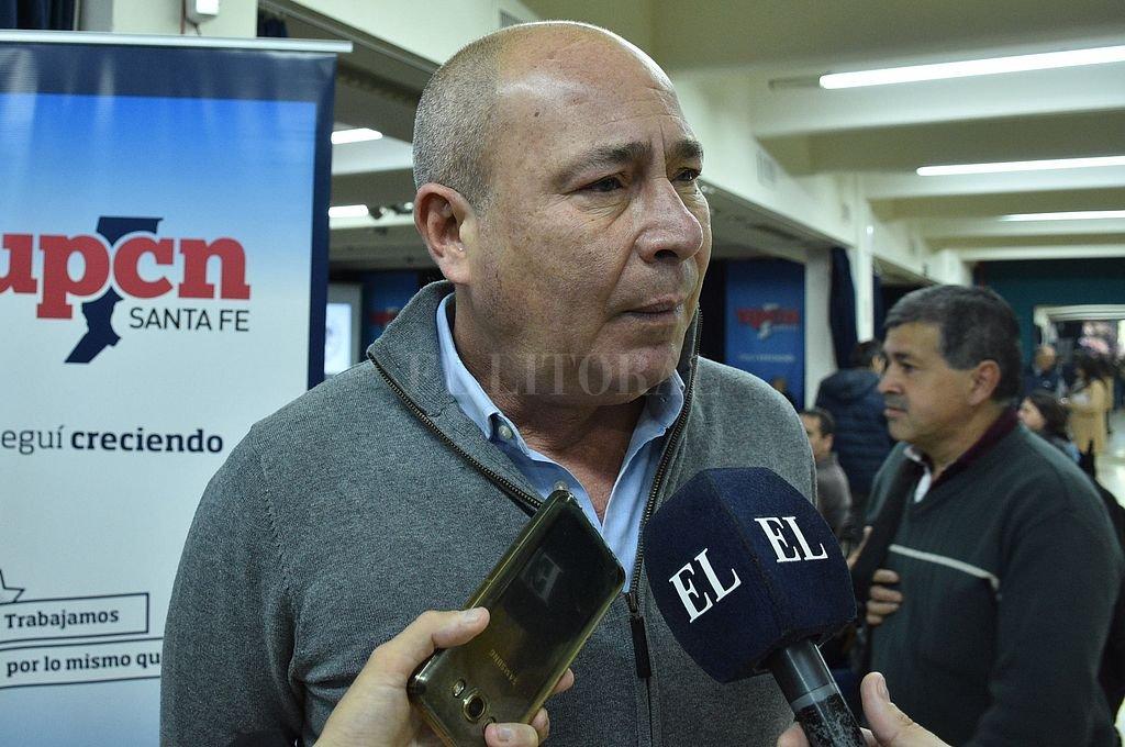 Jorge Molina, secretario General de UPCN. Crédito: Archivo El Litoral / Guillermo Di Salvatore