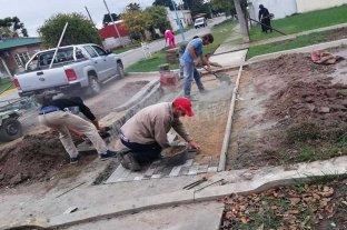 Continúan los trabajos de renovación urbana en San Agustín