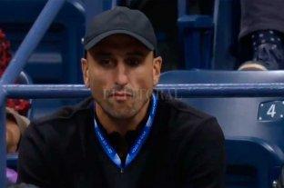 Manu Ginóbili, un espectador de lujo en el US Open