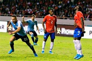 Uruguay le ganó a Costa Rica