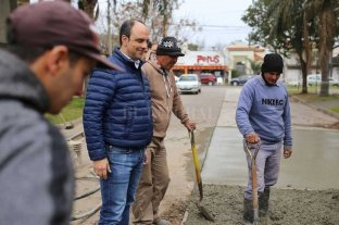 En 18 meses se repararon 40 mil metros cuadrados de pavimento
