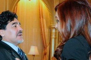 """""""Maradona va a dirigir el equipo de Cristina"""