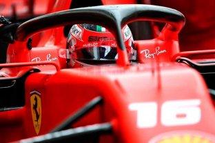 """F1: Leclerc logró la """"pole"""" en el GP de Monza"""