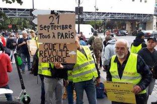 """Los """"Chalecos amarillos"""" vuelven a las calles en Francia"""