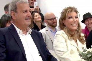 """Cecilia Laratro y """"Chiche"""" Almozny dieron el """"sí"""""""