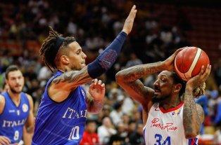 Puerto Rico perdió con Italia y se despidió del mundial