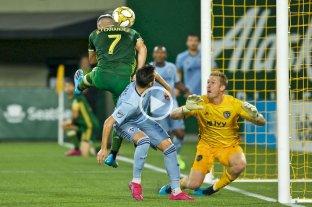 Brian Fernández convirtió un gol agónico para la victoria de Portland Timbers