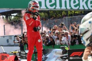 Fórmula 1: Charles Leclerc se quedó con el Gran Premio de Italia