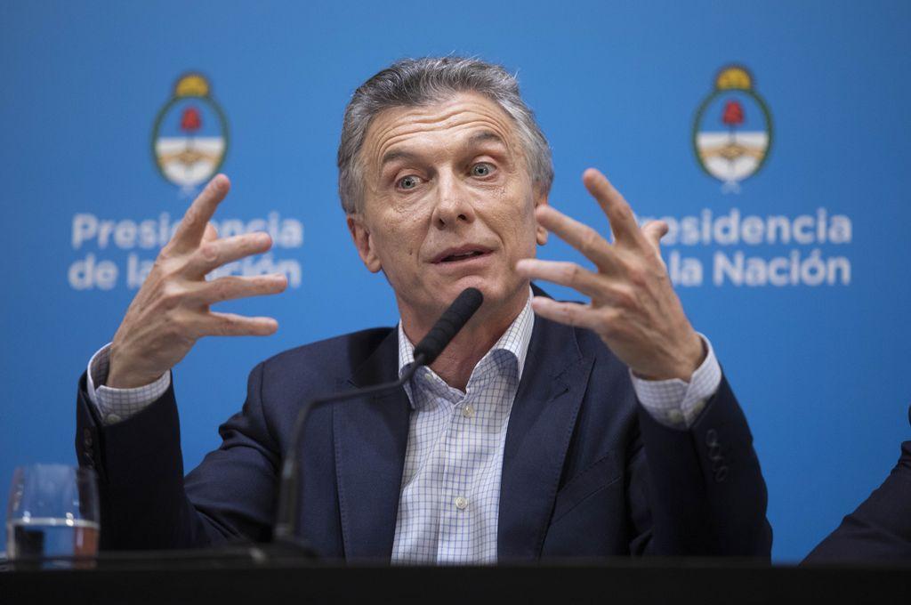 """""""Mi responsabilidad es hacerme cargo y resolver las urgencias"""", dijo el mandatario. <strong>Foto:</strong> Presidencia de la Nación"""
